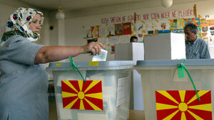 Албанска партия разклати правителството в Македония след успеха на местните избори
