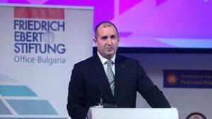 Румен Радев: Никой инвеститор не може да съгради Родината вместо нас