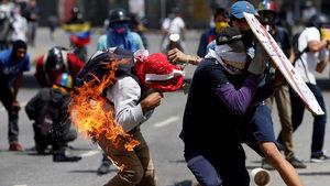 Графика на деня: Дни на мрак във Венецуела