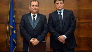 Фотогалерия: Новият председател на ВАС Георги Чолаков встъпи в длъжност