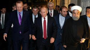 За какъв мир в Сирия се договориха Путин, Ердоган и Рохани