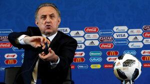 Виталий Мутко напусна президентския пост в Руския футболен съюз