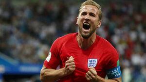 Кейн спаси Англия от провал на старта на световното с гол в последните секунди