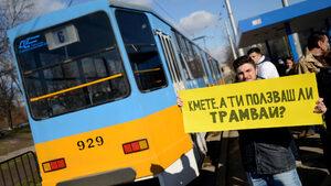 Жители на София са завели иск срещу общината заради маршрут на трамвай