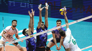 Волейболистите взеха само гейм при тежка загуба от Иран