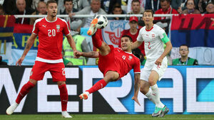 Сърбия обвини ФИФА за загубата си от Швейцария