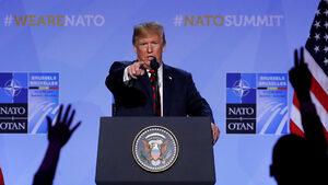 Съжалявам, НАТО. Тръмп не вярва в съюзници