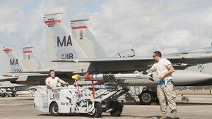 Американски F-15 се включват в две седмици въздушни маневри над България