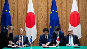 За какво се договори ЕС в най-голямото си търговско споразумение