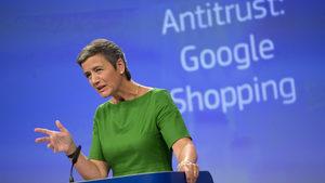 """Брюксел наложи на """"Гугъл"""" рекордна глоба от 4 млрд. евро"""