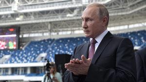 Путин призова руският футбол да улови емоцията от световното и да надгражда