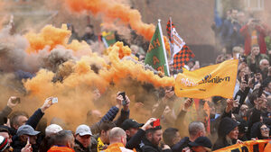 Чорли - градът, в който футболните фенове не са добре дошли