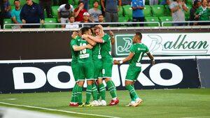 """""""Лудогорец"""" отново не убеди срещу """"Зрински"""", но стигна плейофите в Лига Европа"""