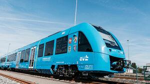 Видео: Първият водороден влак премина тест в Германия