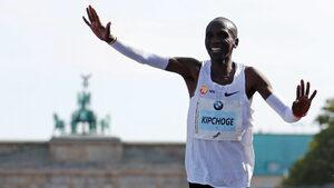 Елиуд Кипчоге и смазващото му постижение на маратона в Берлин