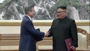 Северна и Южна Корея подписаха декларация за намаляване на военното напрежение