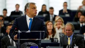 """""""Защитете Унгария"""": Орбан започна кампания срещу вота на европарламента"""