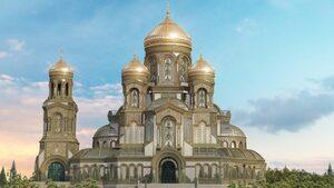 Видео: Руската армия започна да строи една от най-високите църкви в света