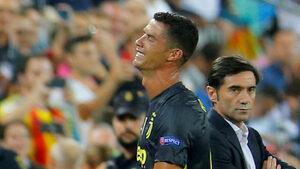 """Роналдо беше изгонен в първия си мач за """"Ювентус"""" в Шампионската лига"""