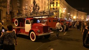 Празник на пожарникаря в Киев