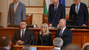 Младен Маринов, Петя Аврамова и Росен Желязков вече са министри