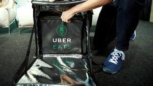 Uber планира да купи приложението за доставка на храна Deliveroo