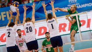 Тежка загуба от САЩ сведе до минимум шансовете на българските волейболисти на световното