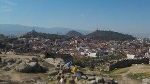 Градът на тепетата