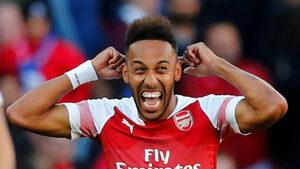 """""""Арсенал"""" излъга """"Евертън"""" с два бързи гола и продължи възхода си"""