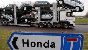 """""""Хонда"""" става днес на 70 години"""