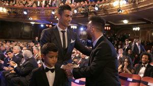 Меси е гласувал за пръв път за Роналдо в класацията на ФИФА