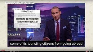Китай се оплака на Швеция заради сатирично шоу
