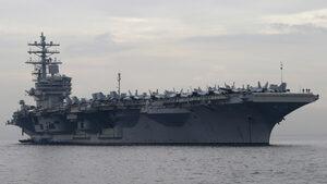 Руският военен флот следи американски боен кораб, който влезе в Черно море