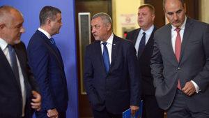 """Борисов отказа да коментира конфликтите в """"Обединени патриоти"""""""