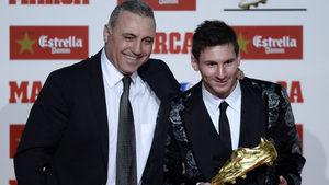 """Стоичков очаква Меси да играе в """"класико"""" въпреки фрактурата на ръката"""