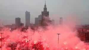 Сред евроскептици и неофашисти 200 хил. поляци шестваха за 100 години независимост