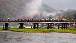 Япония тества система за управление на тълпите туристи
