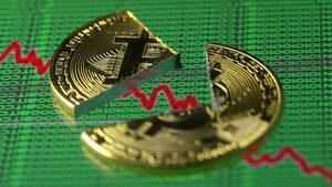 Bitcoin се срина до рекордно дъно за годината