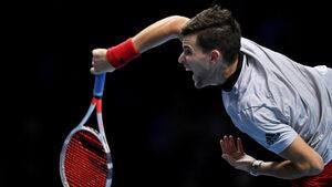 Тийм победи убедително Нишикори в полза на Федерер