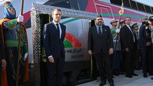 Макрон и кралят на Мароко откриха първата скоростна жп линия в Африка