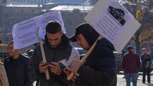 Граждани протестираха срещу кабинета и пакта за миграцията