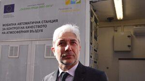 Според Нено Димов въздухът в Русе става все по-чист