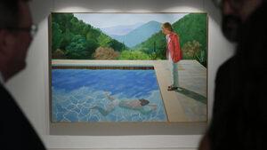 След търг Дейвид Хокни стана най-скъпо продаваният жив художник