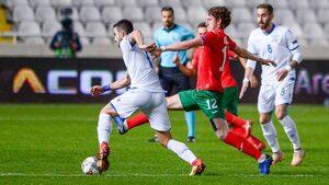 НА ЖИВО: Българските футболисти изостават от Кипър след ранен гол