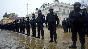 Фотогалерия: Протестът в София