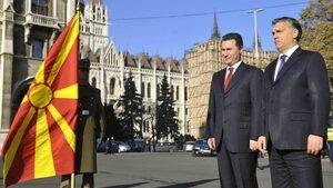 Груевски заслужава специално отношение, смята Унгария