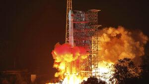 Китай изстреля космически апарат към обратната страна на Луната