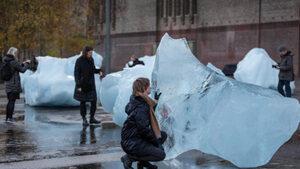 Как мирише въздухът, замръзнал векове преди да бъде замърсен