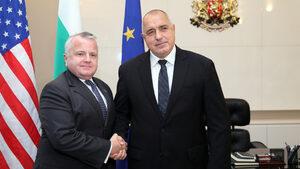 Борисов обсъди енергетиката и сигурността със заместник-държавния секретар на САЩ
