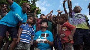 За пръв път в историята - бебе на Вануату е имунизирано с помощ от дрон